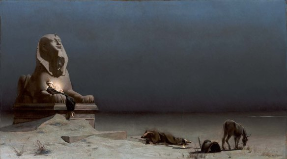 Rest on the Flight into Egypt by Luc Olivier Merson