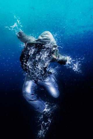 Living water man