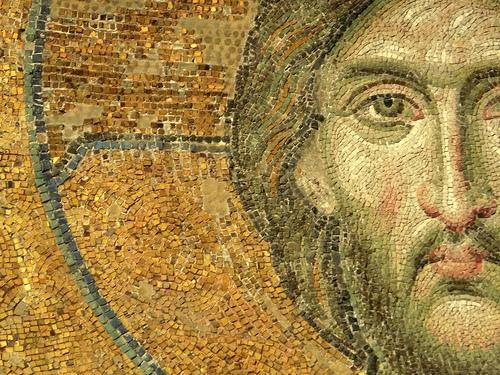 jesus mosaic from hagia sophia