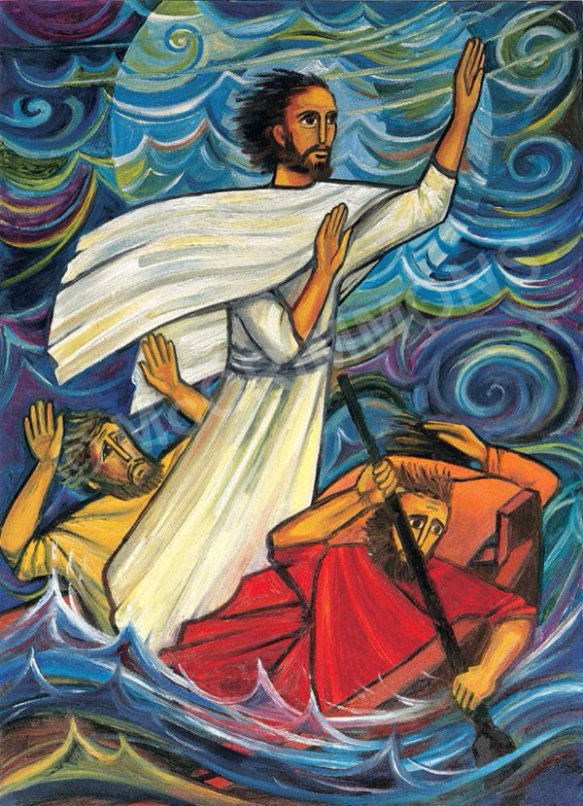 Jesus Calms the Storm by the Benedictine Sisters of Turvey Abbey