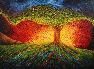 tree of life by Mark Kuhn
