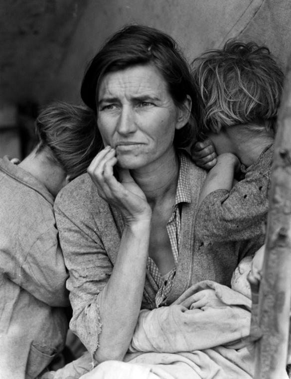 migrant mother great depression