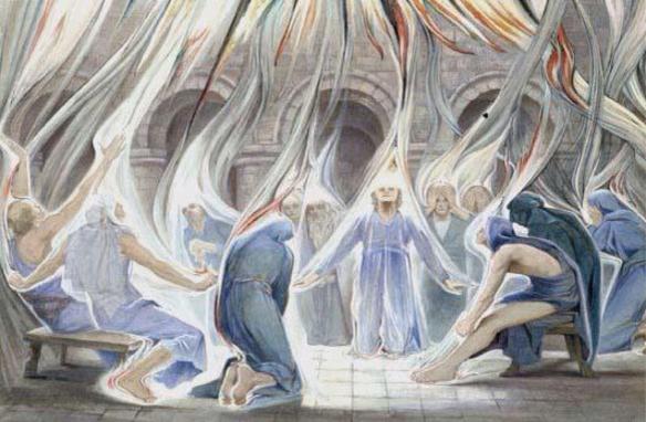 Pentecost baptism holy spirit by Estella Canziani