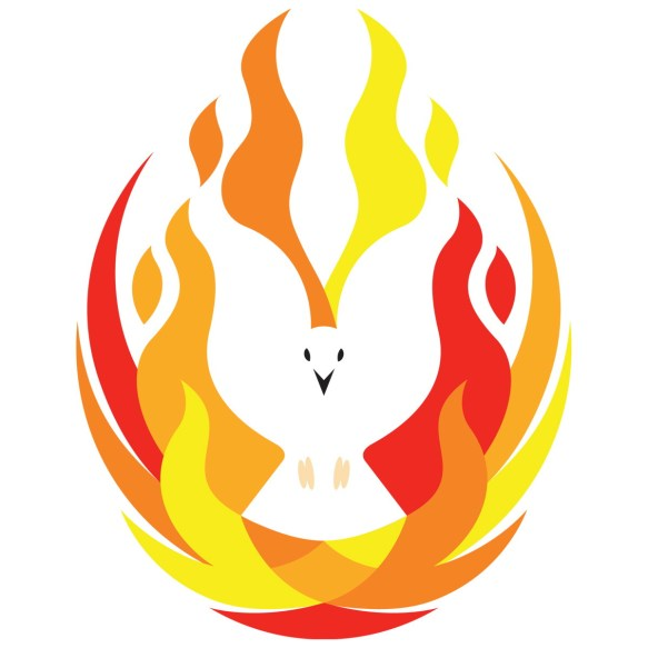 pentecost fire dove