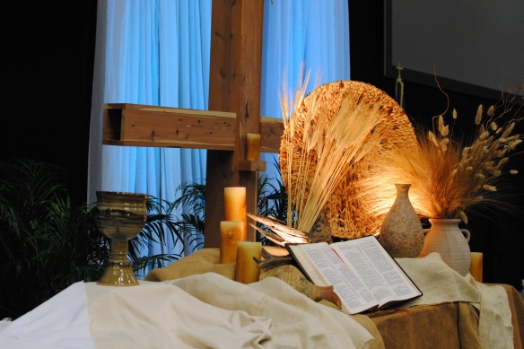 communion service altar table AC 2013