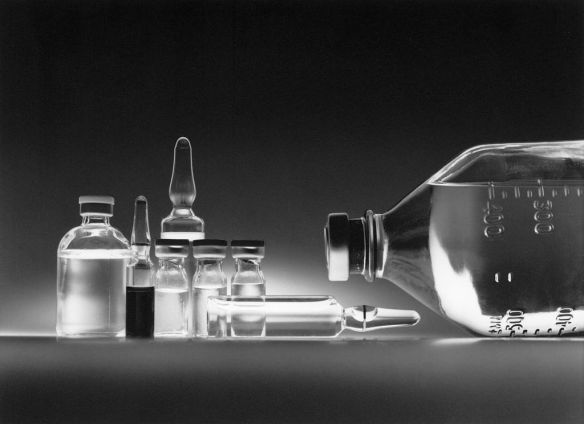 Chemotherapy Vials, photo by Bill Branson on behalf of the National Cancer Institute, via Wikimedia Commons