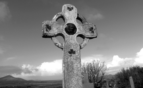 Celtic Cross by Barbara Walsh