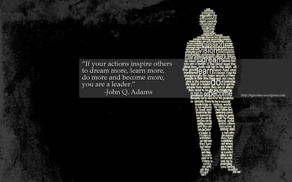 leadership quote - JQ Adams