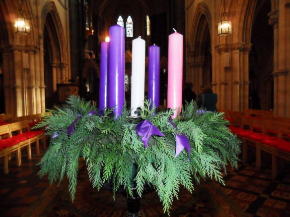 The Advent Wreath in Christ Church Cathedral, Photograph: Patrick Comerford, 2010