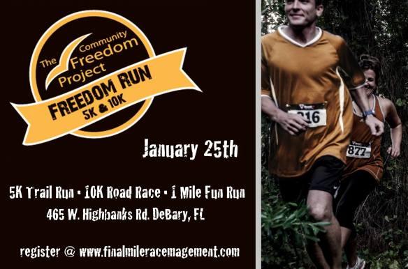 freedom run 2013