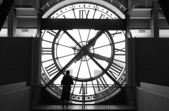 huge clock
