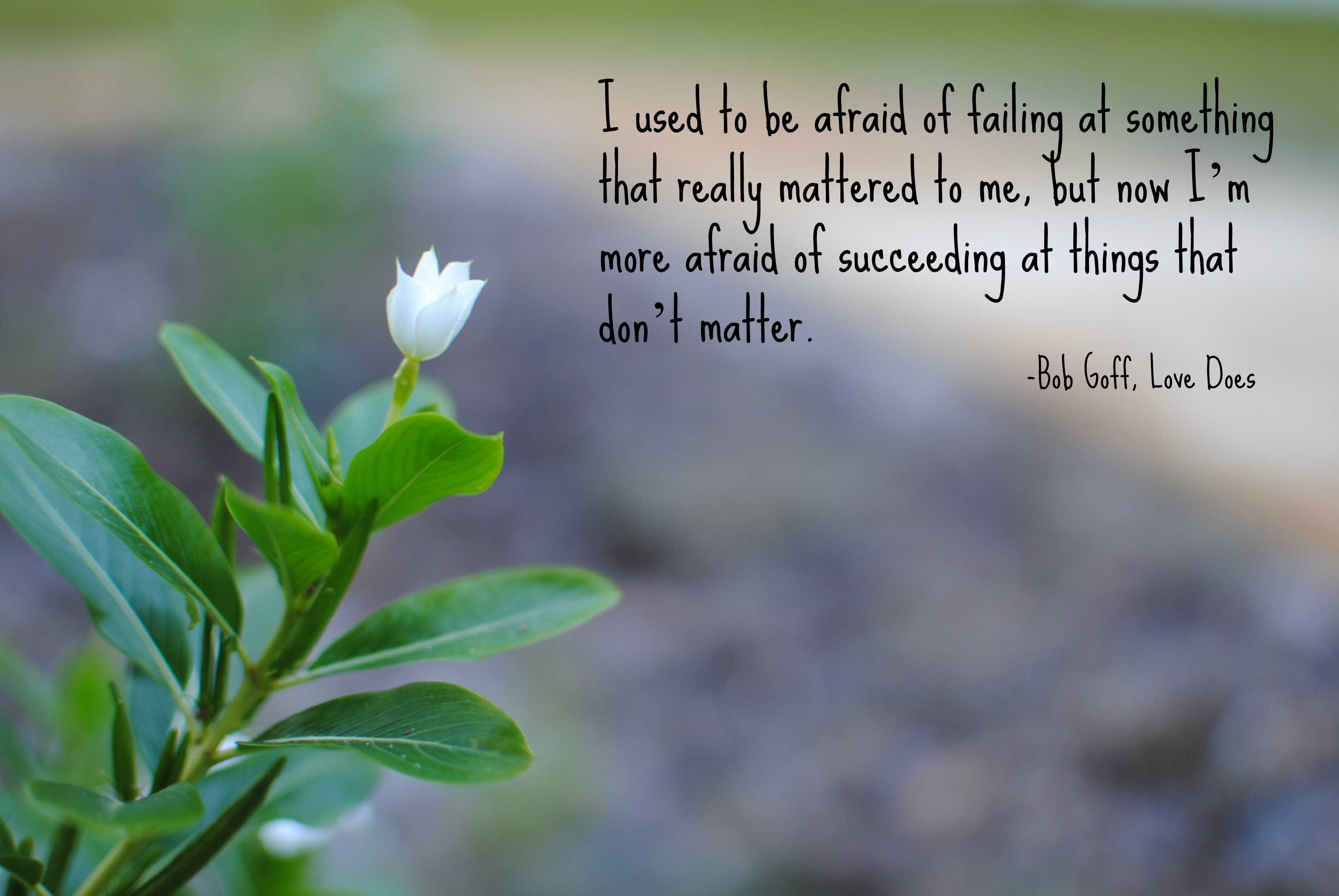 Photo Quote Fear Of Failure Turning The Word