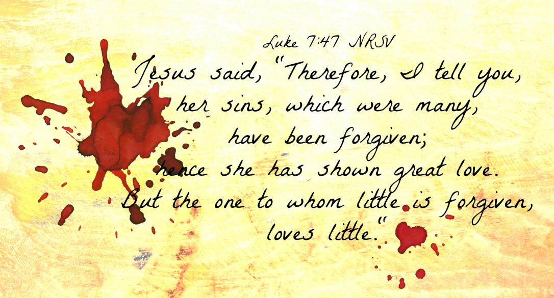 Kuvahaun tulos haulle Luke 7:47
