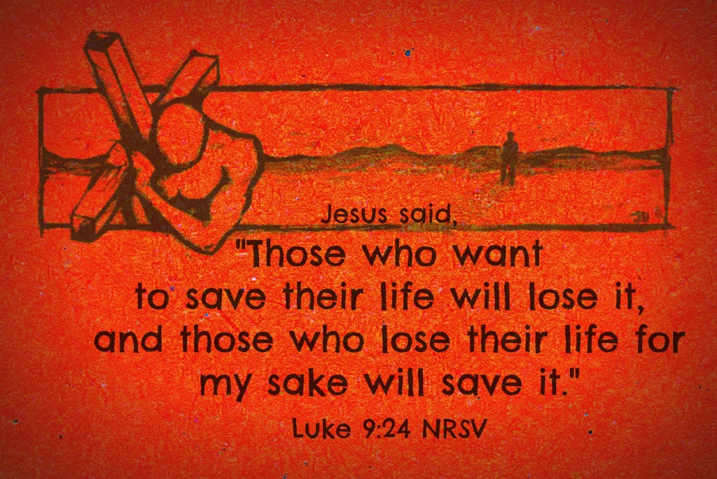 Luke 09 24