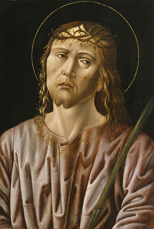 Ecco Homo, an anonymous work of the Early Renaissance, via Wikimedia Commons