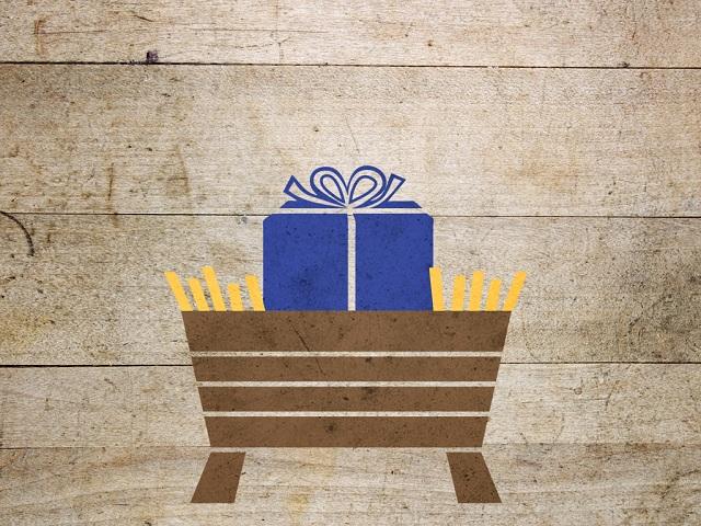 gift present manger