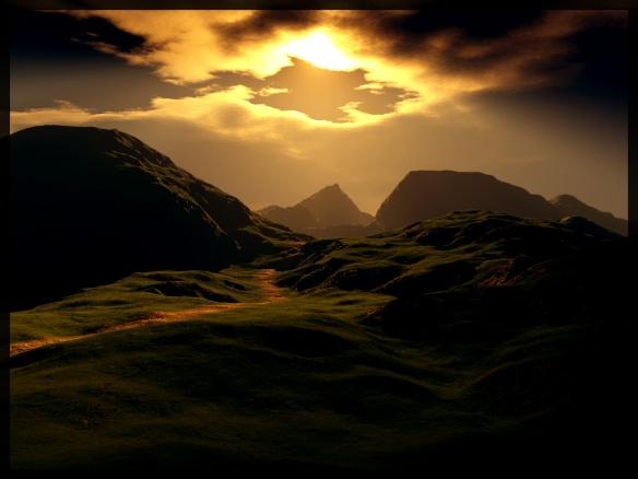 The Path of Light by outeq (aka Juuso K) via DeviantArt