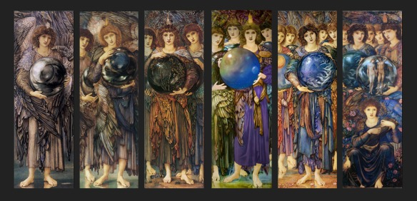 The Days of Creation by Edward Burne-Jones