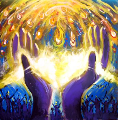 Modern Pentecost Art