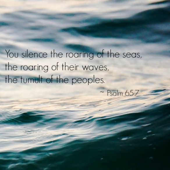silent sea psalm 65-7 b