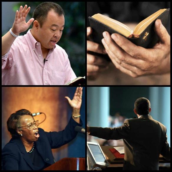 preacher collage