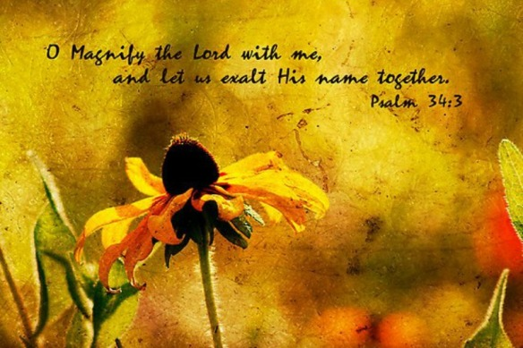 magnify psalm 34
