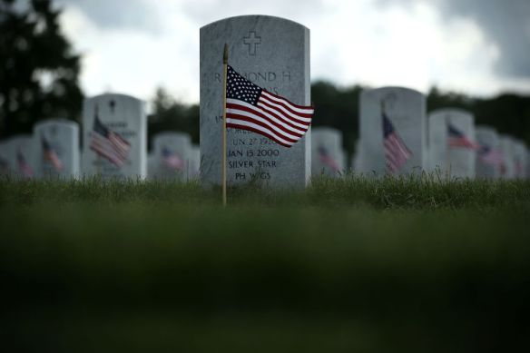 memorial day military grave