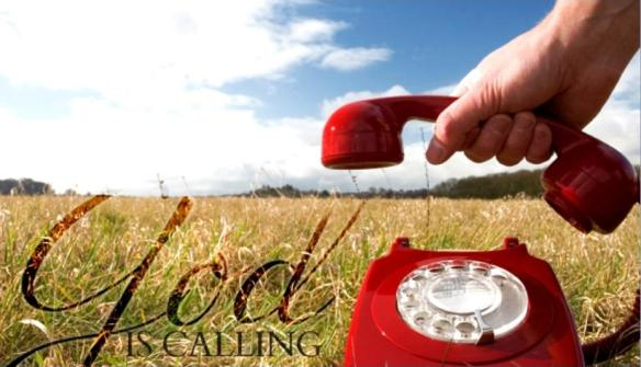 god is calling red phone