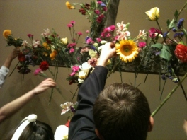 easter-cross-with-flowers-children