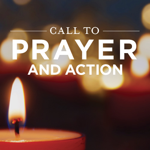 call to prayer and action