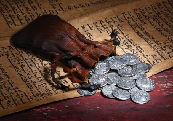 Judas coins