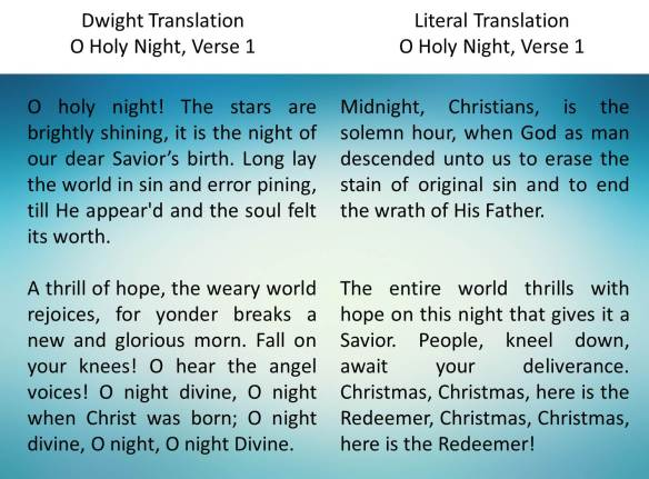 o holy night verse 1