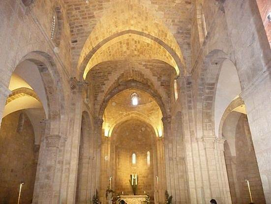 st anne jerusalem interior