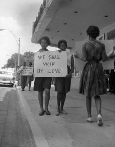 mlk protesters win by love
