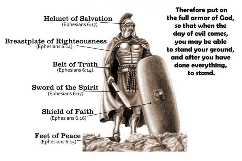 Standing In The Armor Of God Ephesians 6 Revlisad Com