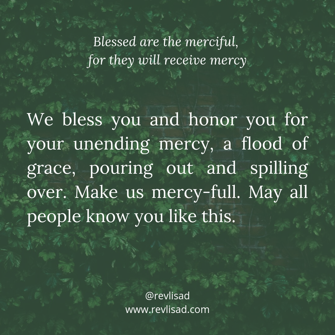 Beatitudes 5 merciful