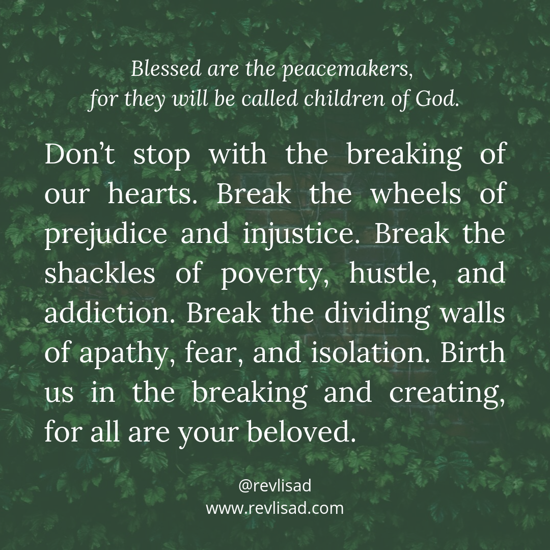 Beatitudes 7 Peacemaker