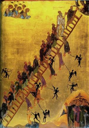ladder of ascent icon beatitudes