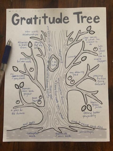 Gratitude Tree complete Jen Willhoite