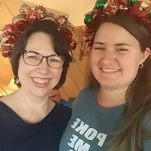 Lisa Elyse Christmas headbands