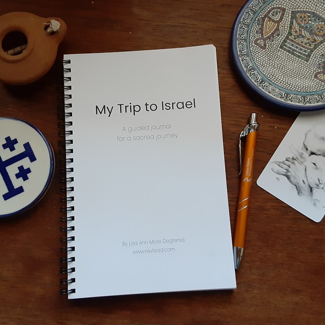 Israel Journal flat lay cover