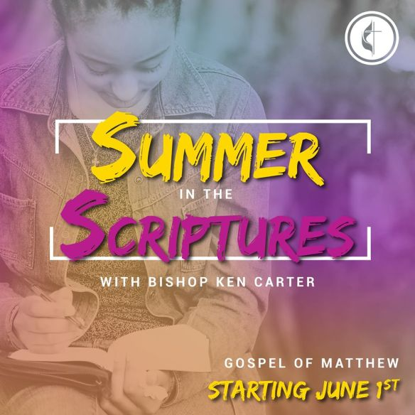summer in the scriptures logo flumc