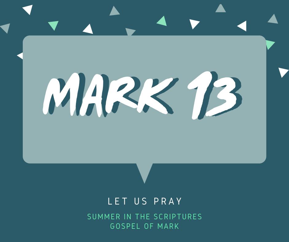 summer in the scriptures- Mark (1)