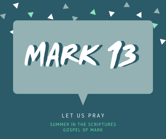 summer in the scriptures- Mark (1)
