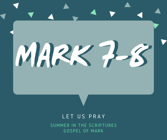 summer in the scriptures- Mark (2)