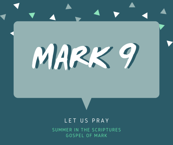 summer in the scriptures- Mark (3)