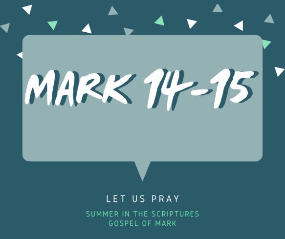 summer in the scriptures- Mark (5)