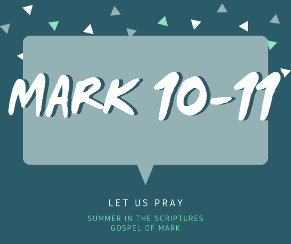 summer in the scriptures- Mark (6)