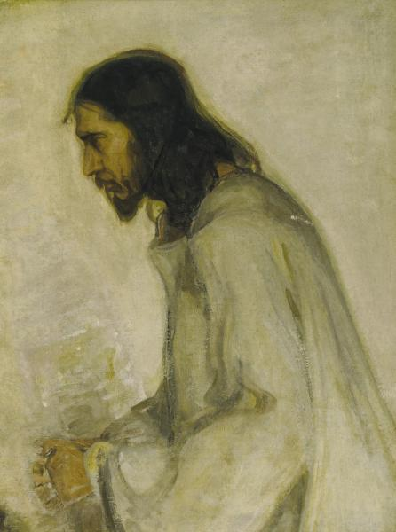 the savior by henry ossawa tanner